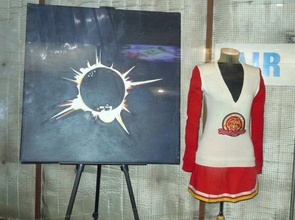 Heroes eclipse painting cheerleader costume
