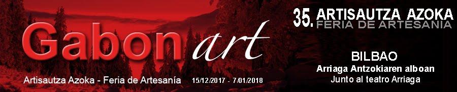 Gabonart - 2017-Feria de artesanía de Navidad de Bilbao