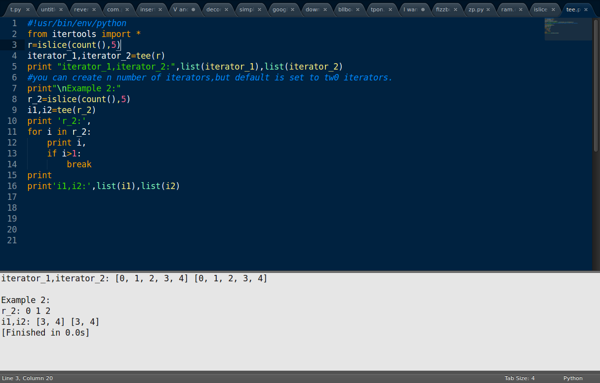 how to set if with a not in python