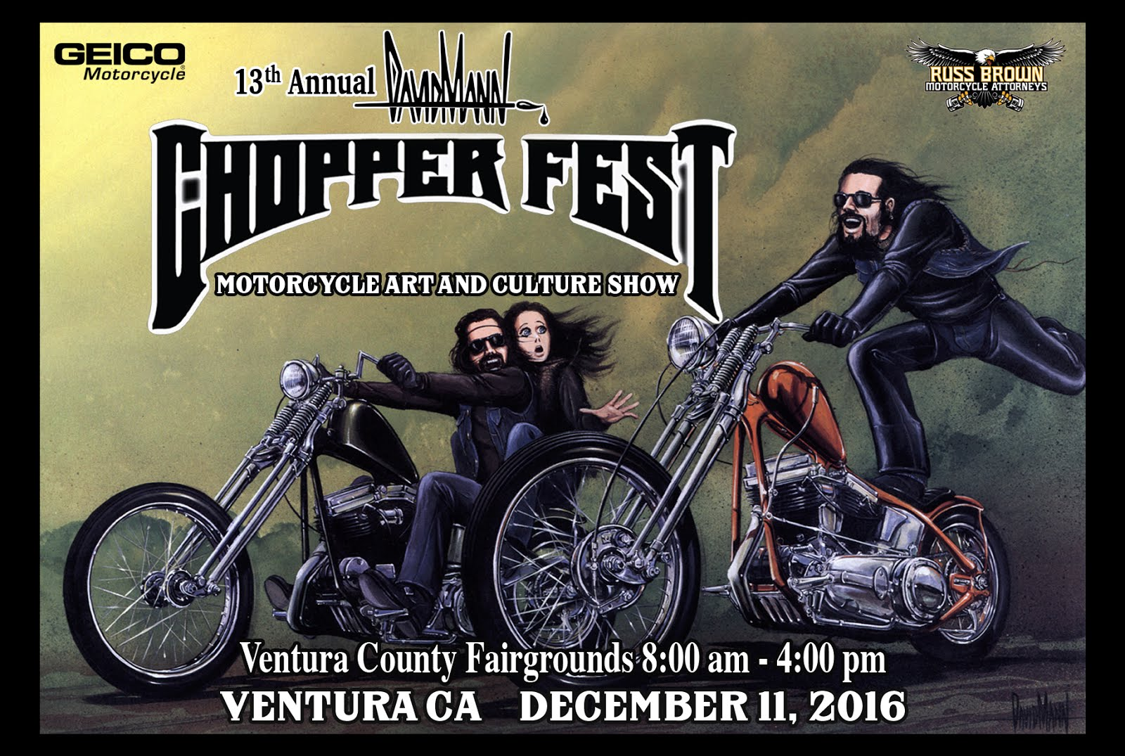 13th Annual David Mann Chopper Fest
