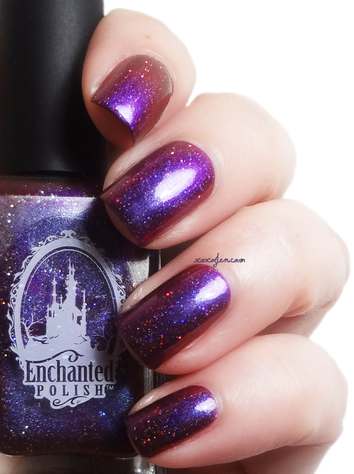 xoxoJen's swatch of Enchanted Polish Entwined