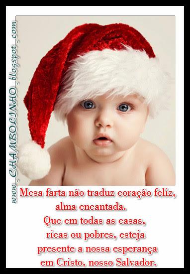 Recadinho Natal com Mensagem