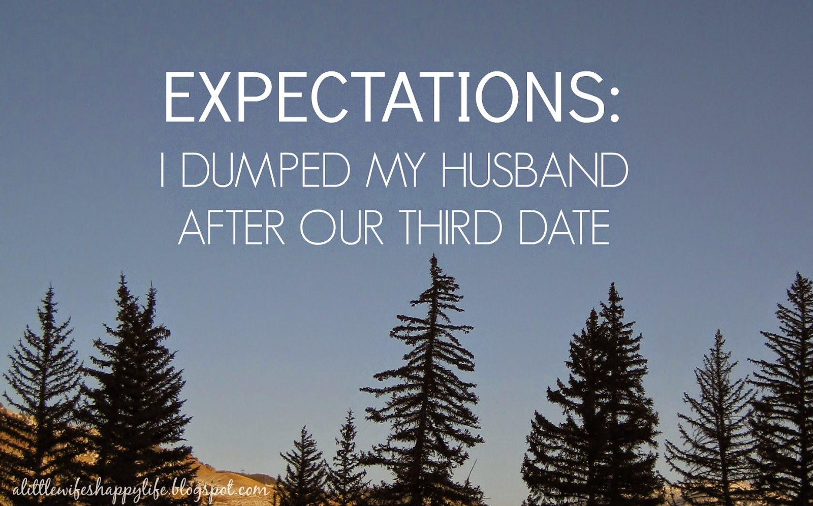 Third date expectations