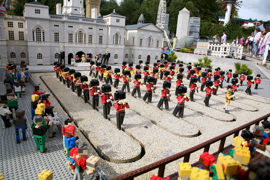 Miniland at Legoland Windsor