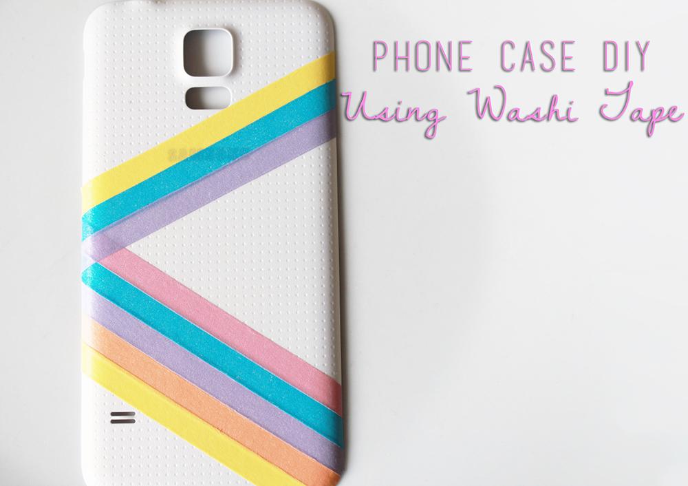 July 2014 dorkface for Washi tape phone case