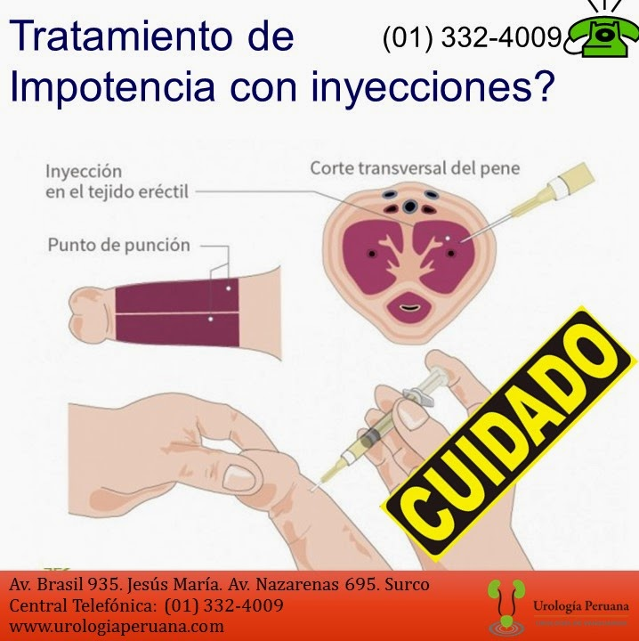 inyecciones en el pene