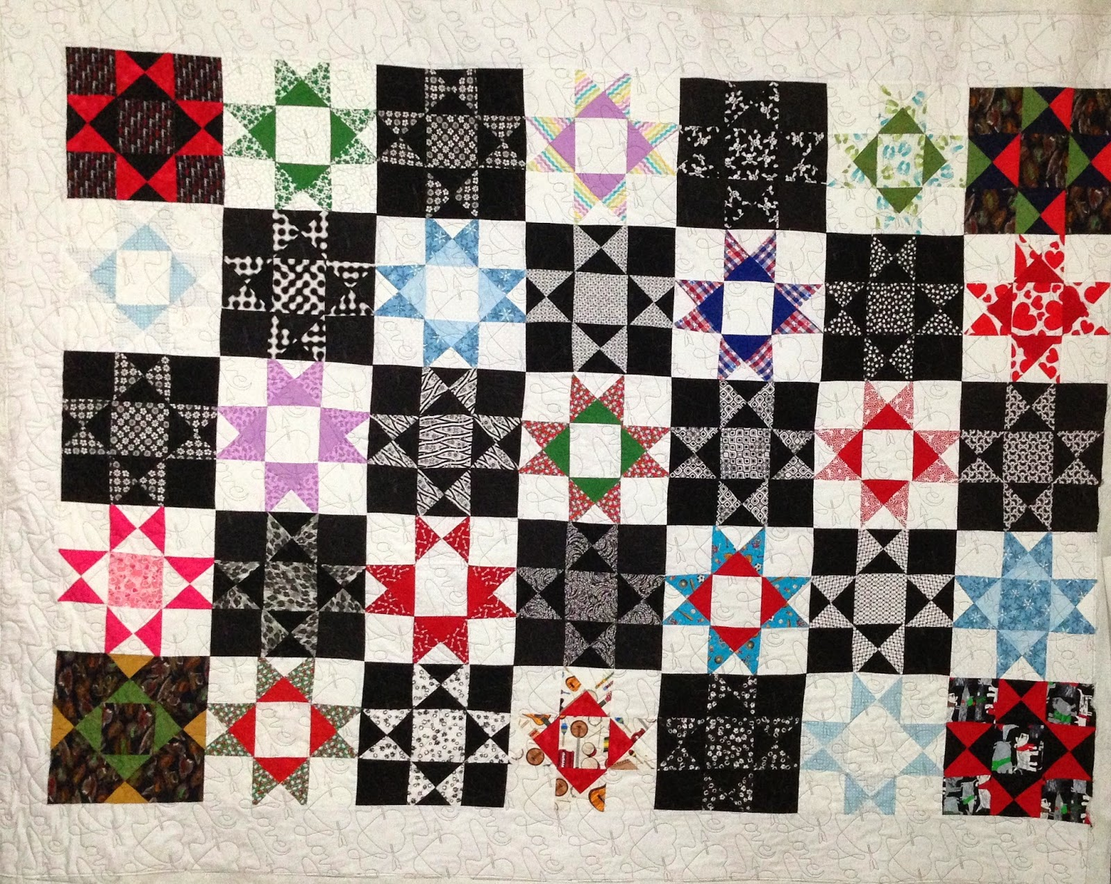 Joan McGarity Granddaughters Quilt