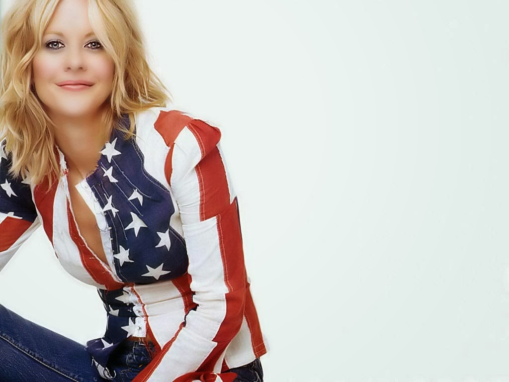 Meg Ryan Country Flag Dress
