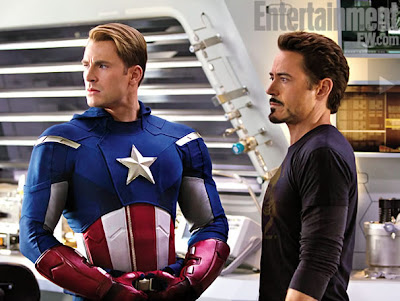 Avengers Captain America on Cinema Life   The Avengers   2012    Pictures From The Set