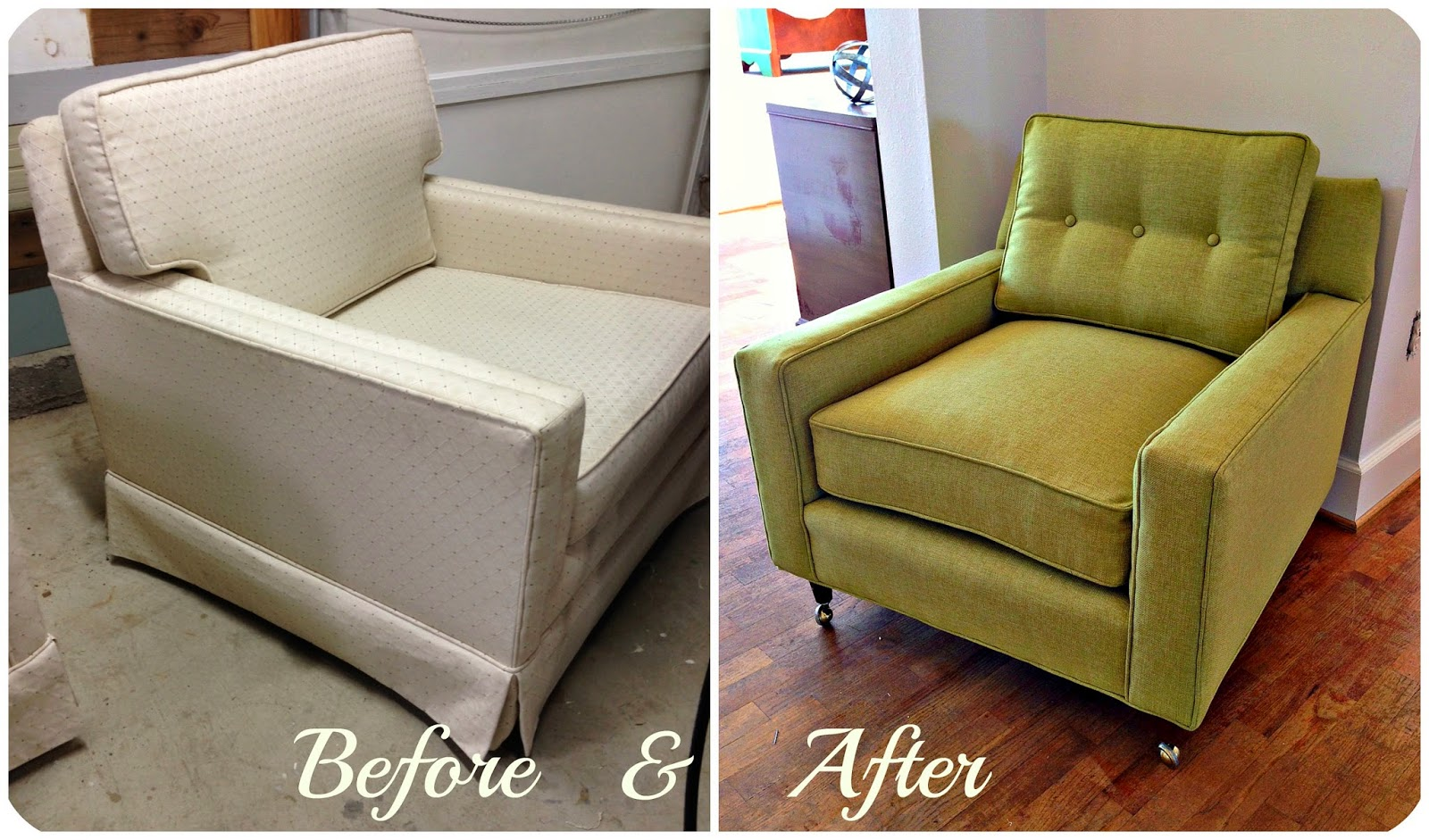 Just A Few Easy Changes Totally Brought The Chair Back To A Classic Mid  Century Style That Is So Fresh Right Now. That Is One Of My Favorite Things  About ...