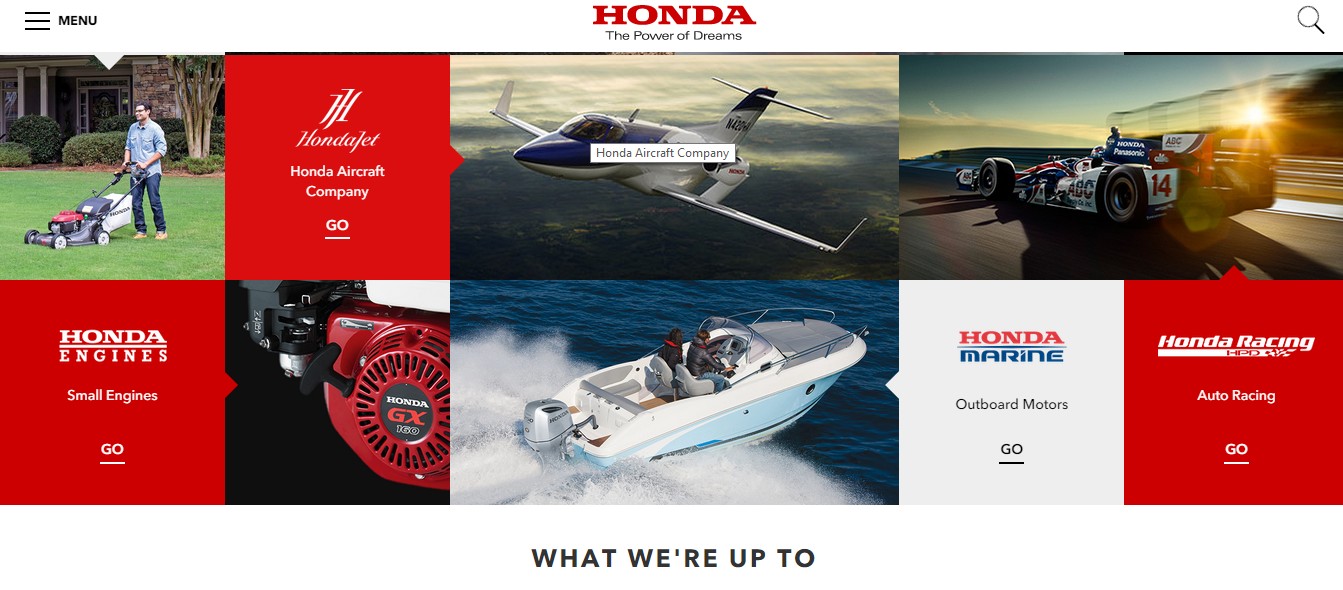 a description of the american honda motor company