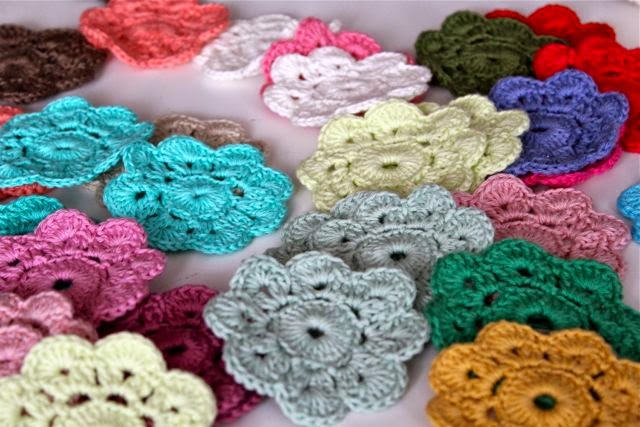 My Rose Valley Crochet Flowers And Tired Garden Hands