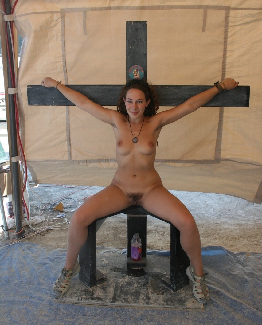 at girls Nude burning man
