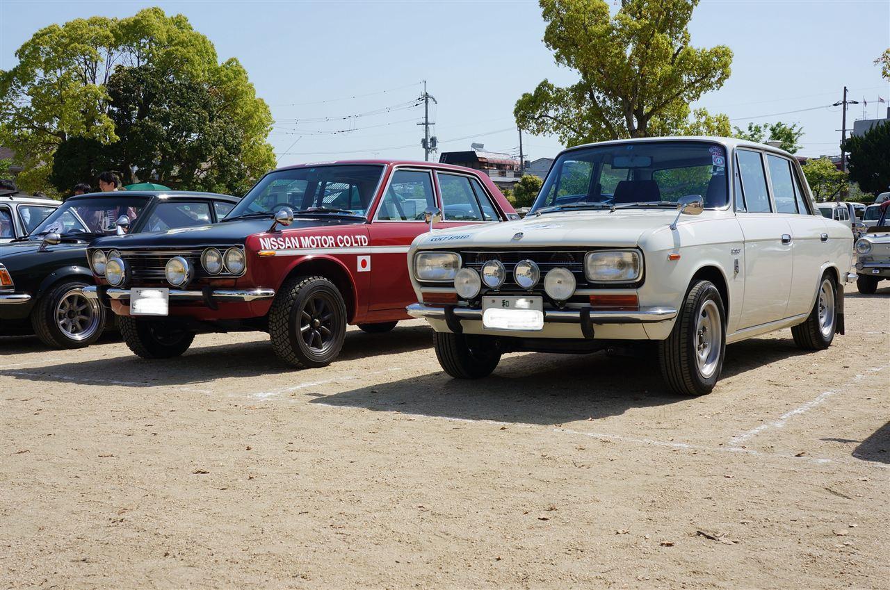 Nissan Bluebird 510 & Mitsubishi Colt 1200