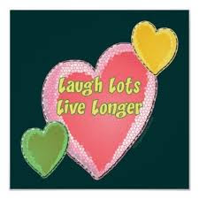 Laugh lots, live longer