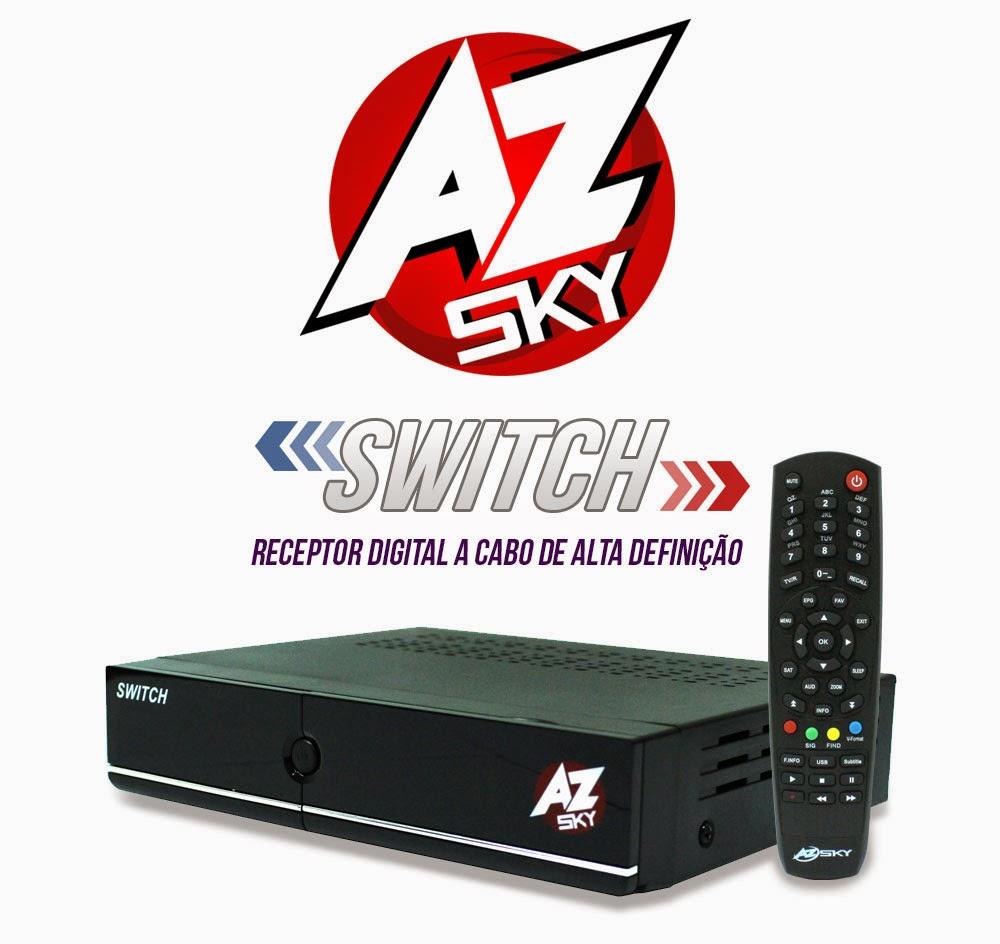 cabo - Nova atualização para seu Azsky Switch HD cabo .  Data:06/11/2014. Azskyswitchrecep