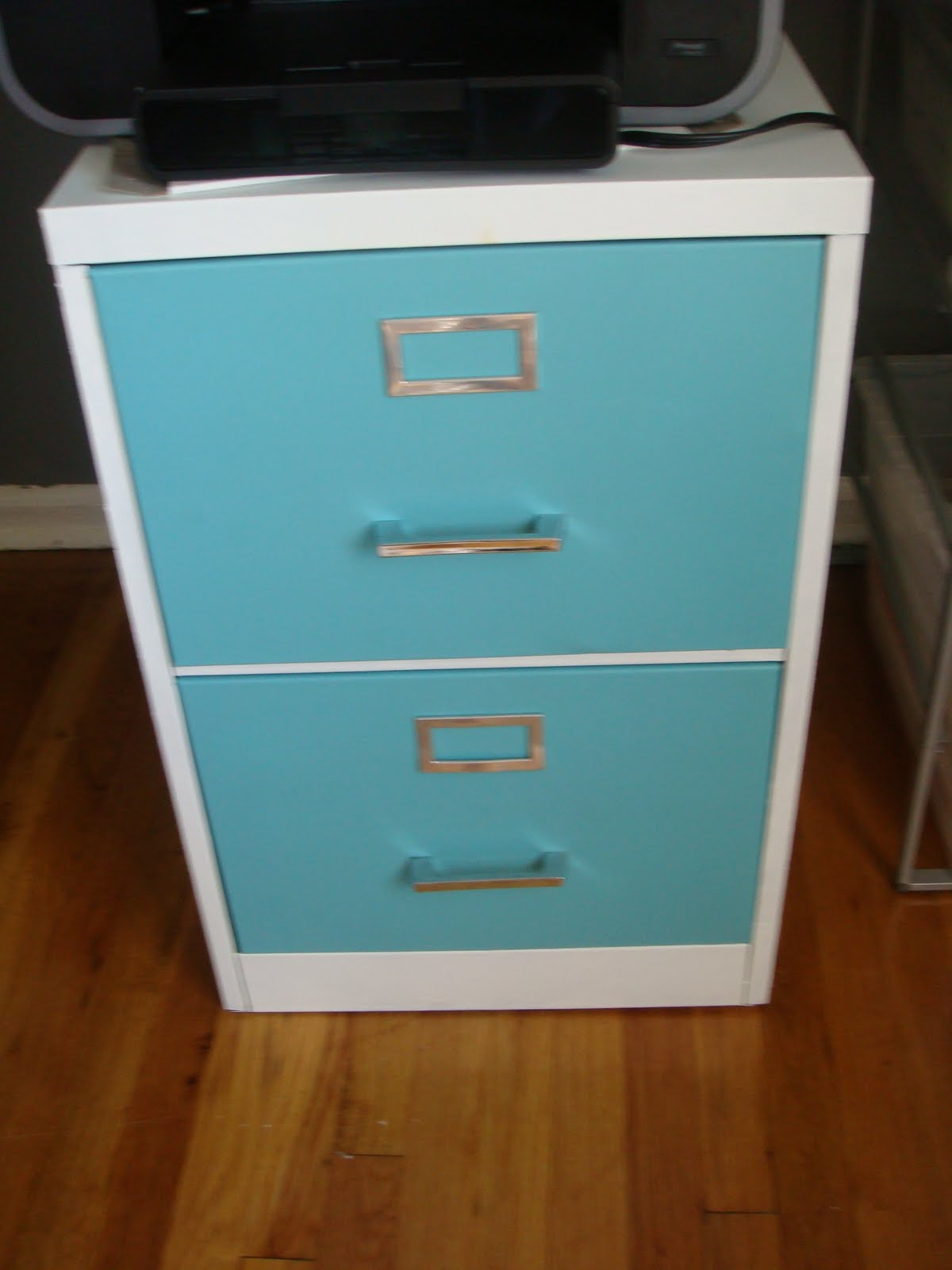 Modern DIY & Modern DIY: How to Paint a Metal Filing Cabinet for under $40