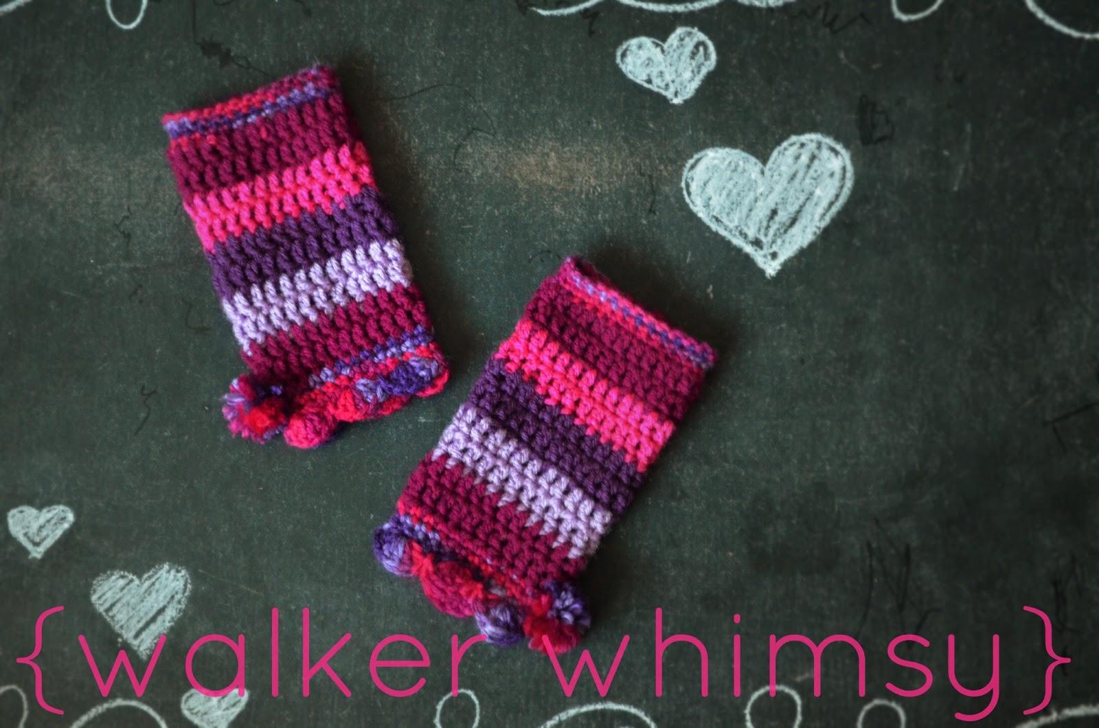 {walker whimsy}: Striped Leg Warmers {FREE Crochet Pattern ...
