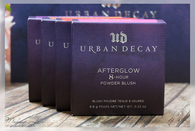 Urban Decay Summer Launches 2015 Afterglow Blushes