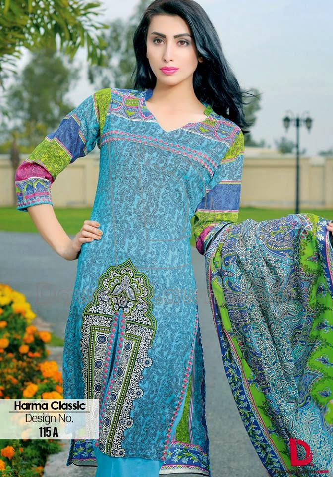 Dawood Harma Classic summer Lawn Collection 2015