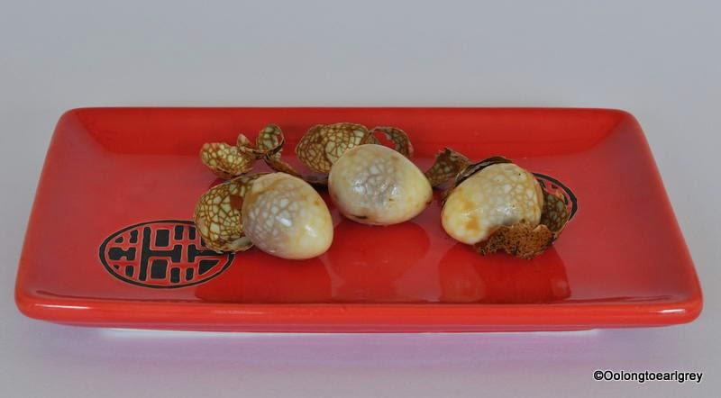 Chinese tea eggs, cha ye dan