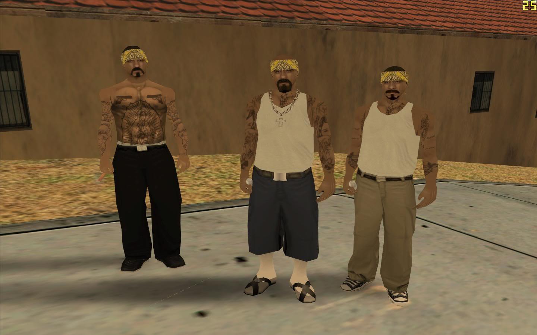 Коды к GTA: San Andreas: Все коды 82