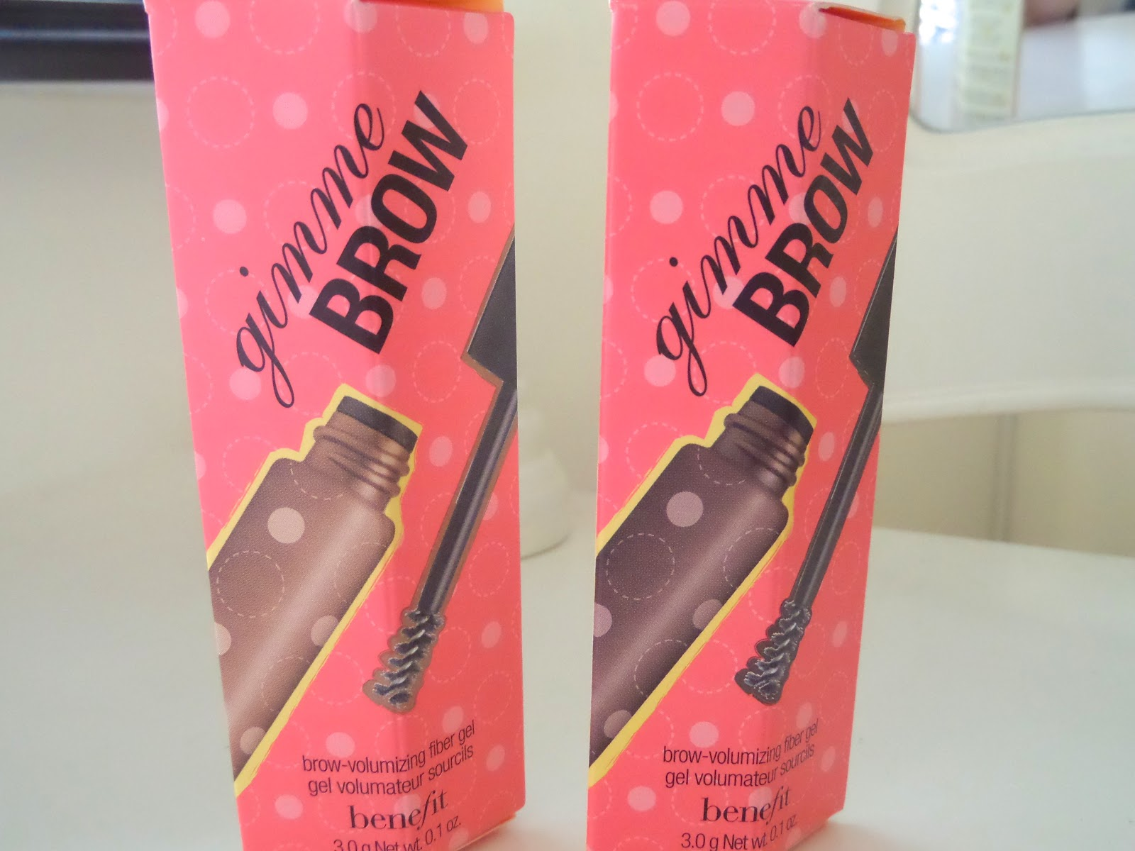 Benefit Cosmetics Gimme Brow Fibre Gel