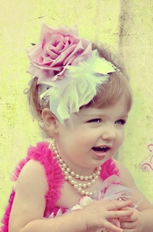 Bandana bayi cantik