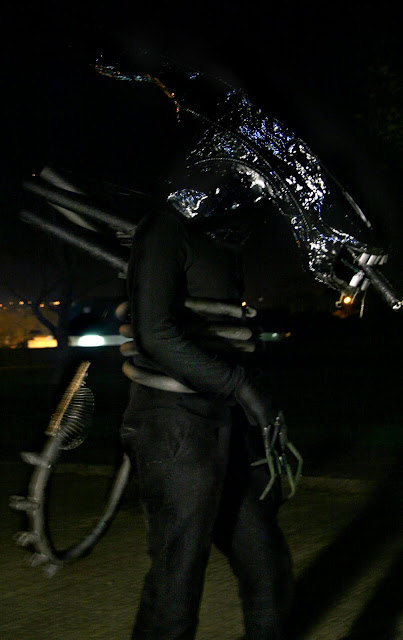 Homemade Alien Zenomorph Costume
