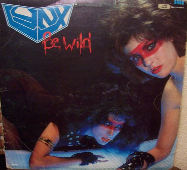 Sexy women metal album cover