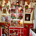 """Sweet"" Christmas Kitchen, Tree #8 and Hutch,Our Christmas Home Tour 2014 , Part 8"