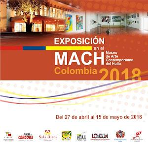 Exposición en MACH, Colombia 2018