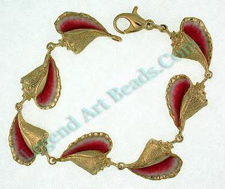 Enamel Conch Jewelry