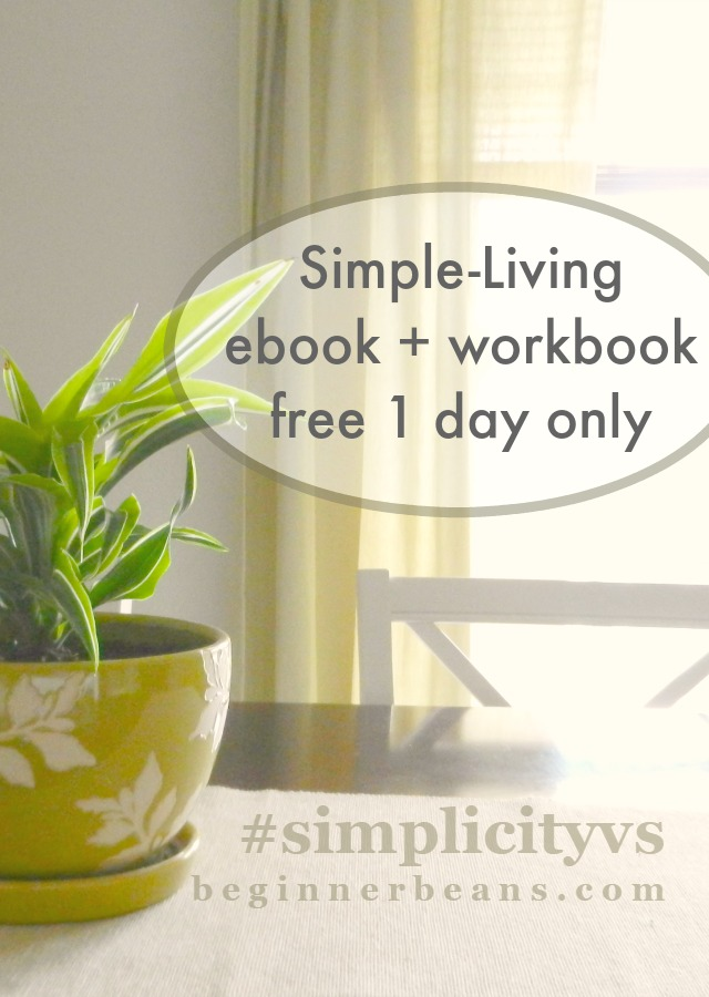 Simple-Living eBook free 1 day only