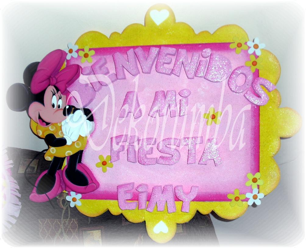 Imagenes de Minnie bienvenidos - Imagui