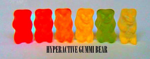 Hyperactive Gummi Bear