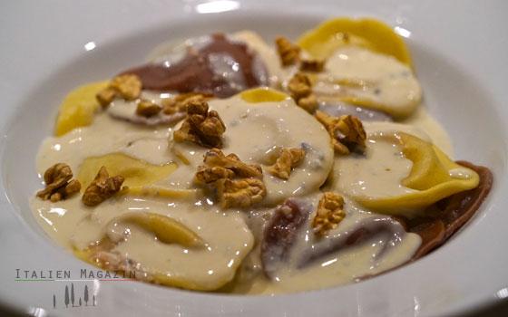 Gorgonzola Walnuss Nudelrezept