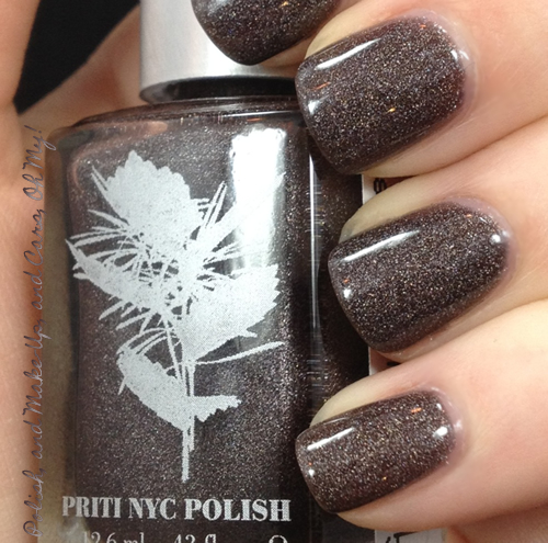 Nyc Metallic Nail Polish: Polish? Oh, My...: Priti NYC Polish 'Lambstail Cactus