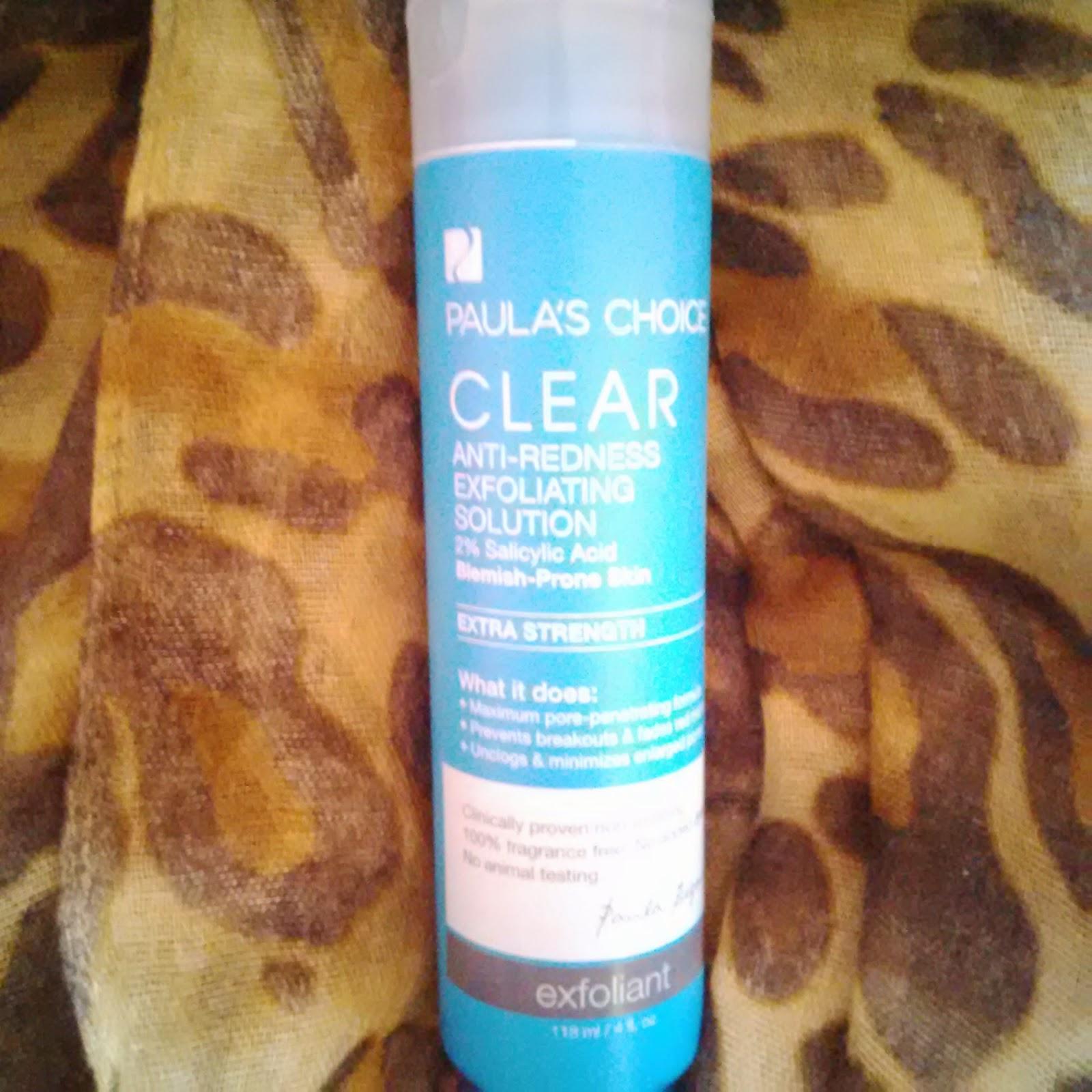 Paula's Chocie CLEAR Anti-Redness Exfoliating Solution 2% Salicylic Acid