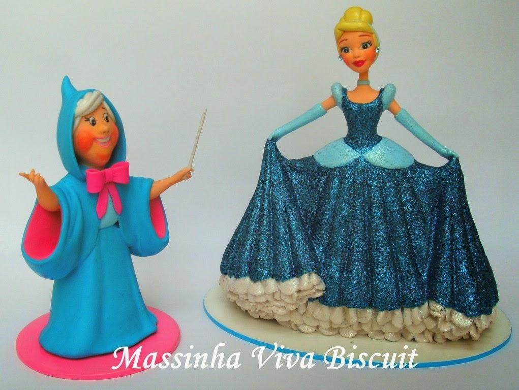 Cinderela e Fada Madrinha