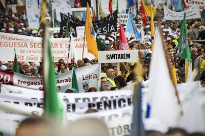 """Presidente da Anafre agradeceu aos """"mais de 200 mil portugueses"""" que se manifestaram"""