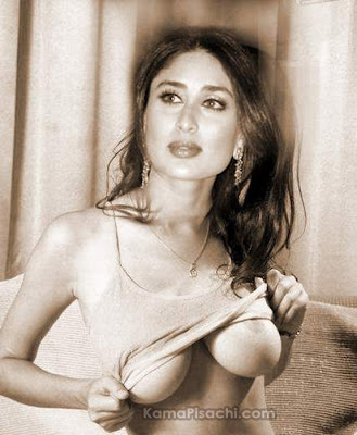 Kareena Kapoor Nude Showing Nipples (Fake) - Heroines Nude