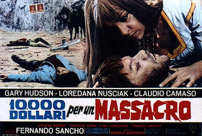 Ten Thousand Dollars For A Massacre Film Poster
