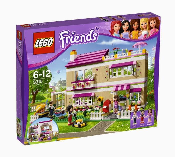 TOYS - LEGO Friends - 3315 La Casa de Olivia  Juguete Oficial | Olivia's House | A partir de años