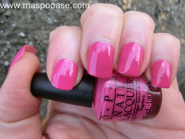 OPI Kiss Me on my Tulips review