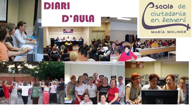 Visita el Diari d'aula de l'Escola de Ciutadanía en Femení María Moliner