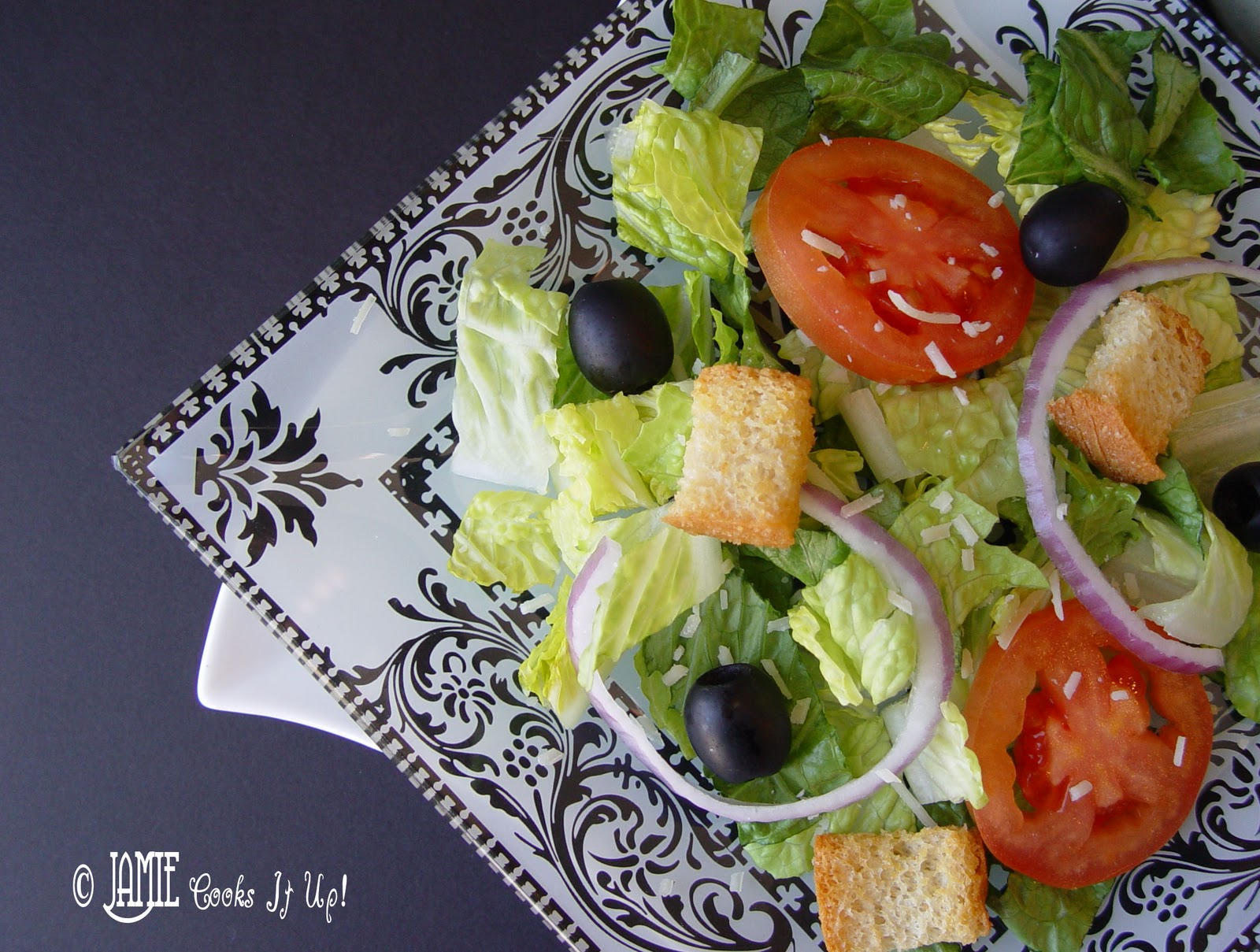 Olive garden salad with homemade dressing - Olive garden salad dressing recipes ...