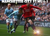 Manchester City Pecundangi MU 6-1 | Jalannya Pertandingan MU Vs Manchester City