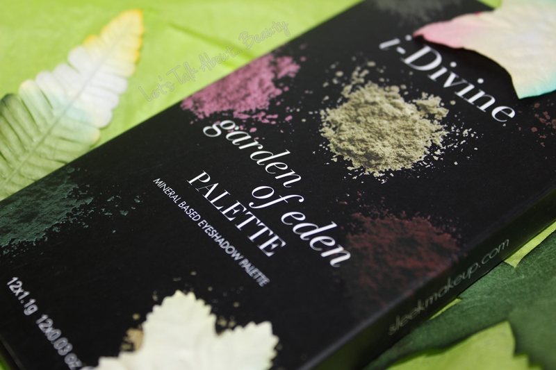 MAKE-UP | Sleek MakeUP i-Divine Garden of Eden Eyeshadow Palette