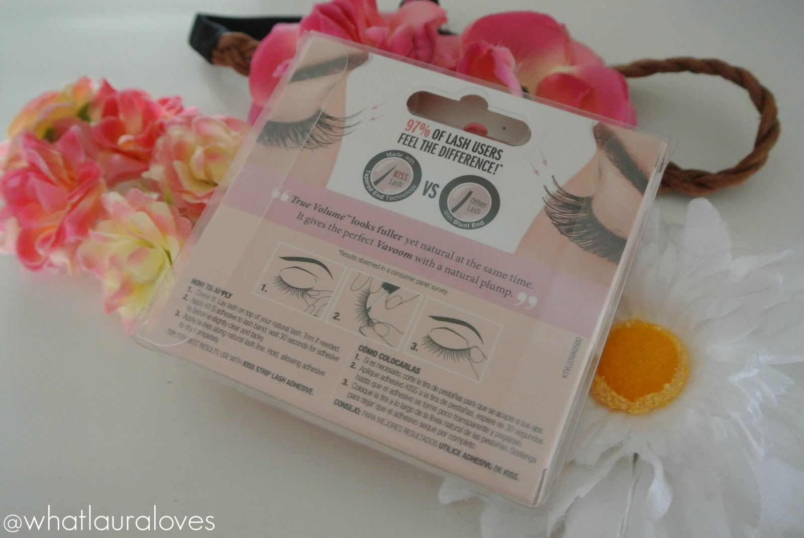 Kiss True Volume Lashes in Chic Review